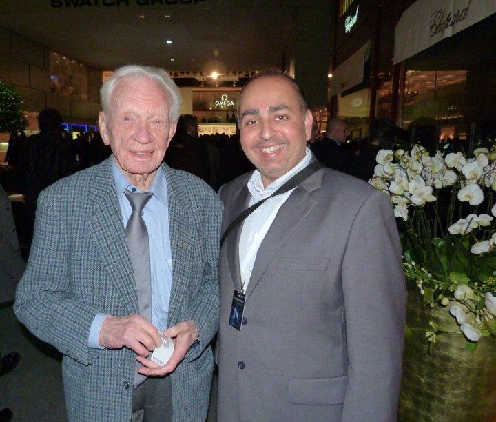 Meeting Mr Helmut Sinn Basel 2011